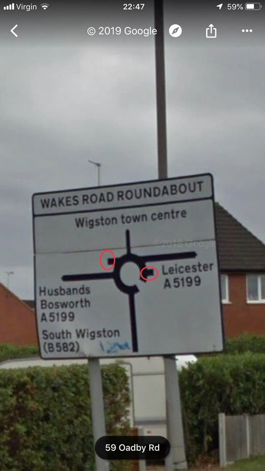 too many exits on the roundabout